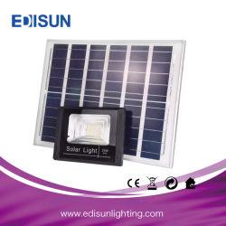 Die-Casting étanches IP65 Boîtier noir en aluminium 20W Projecteur à LED solaire