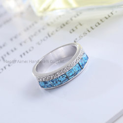 La mode bague en diamant Bijoux Bague Cristal Accessoires multicolores