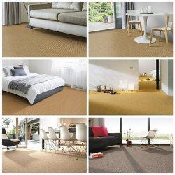Grossista chinês Home Hotel Office Deco Tapete de juta Sisal natural da parede de Rolo para Rolo de sisal Parede Carpet