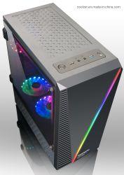 아BS와 RGB 지구 빛 L05를 가진 ATX 탑 PC 상자
