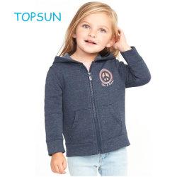 Hoodieの女の赤ちゃんの詰められたワイシャツ、子供のばねの偶然の暖かいコートの商品
