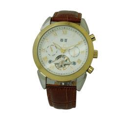 Horloge van het Roestvrij staal van de luxe Man Multifunctionele met Mechanische Beweging (jy-G071)