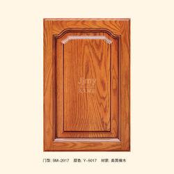 Portello americano dell'armadio da cucina di legno solido della quercia rossa