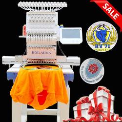 Type Holiauma frère seule tête de la broderie de la machine pour la dentelle T-shirt Logo plat Cap métier à broder informatisé Ho1501
