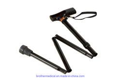 卸し売りアルミ合金の盲目の折る棒の北欧の杖の杖