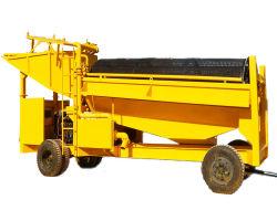 الفاصل المغناطيسي للآلة المتنقلة لآلات تعدين الذهب