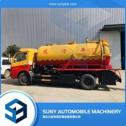 5000L-8000L camion-citerne d'aspiration des eaux usées de vide pour la vente