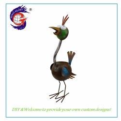 Оптовая торговля настроенных животных металла с высоты птичьего полета на открытом воздухе и потенциометра цветов для сада украшения