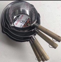 El japonés de la nieve de acero inoxidable olla hirviendo olla de sopa de pan de leche de bote de gas y la cocina de inducción