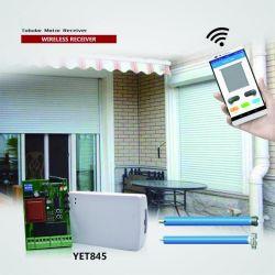 WiFi 및 RF 433.92MHz 보드 220V 롤러 셔터 파이프형 모터 도어 컨트롤러 Yet845