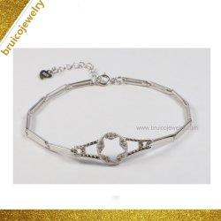 Новый дизайн моды ювелирных изделий оптовые 925 серебристые смотреть Bangle браслет украшения