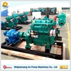 Moteur diesel de gros de démarrage électrique du moteur de pompe à eau centrifuge