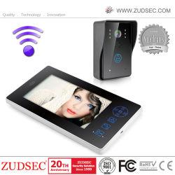 La puerta de vídeo inalámbrica de 7 pulgadas para Smart Phone Home Security