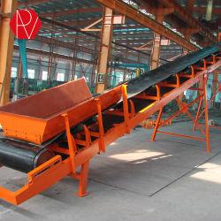 Minería movimiento rápido móvil Transportador de correa móvil portátil para la arena y piedra