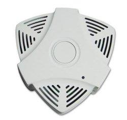 A qualidade do ar em casa inteligente do molde da tampa do detector