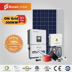 300kw op PV van de Zonne-energie van het Net de Installatie van het Systeem