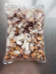 Les fruits de mer surgelés IQF matières mixtes dans le poisson