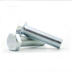 DIN933/DIN931 Galvanizado rosca completa la mitad de los tornillos hexagonales de rosca del tornillo con tuerca hexagonal con arandela /Perno de anilla perno de brida/ / Fundación / Perno o tornillo de cabeza T /el tornillo y tuerca