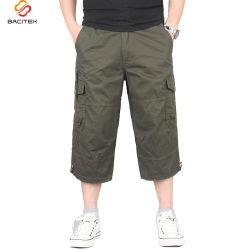 Classic hommes pantalon cargo pantalon de loisirs court coton Vêtements de travail