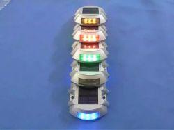 Vite prigioniera di alluminio autoalimentata solare infiammante della strada alzata pavimentazione del LED