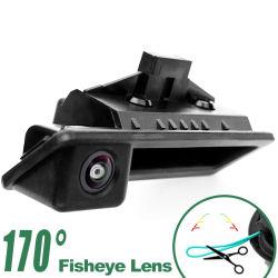 170degré objectif Fisheye Appareil photo de la poignée d'agrégation de marche arrière pour BMW série 3/5