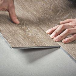 Spc étanche en bois ignifugé Cliquez sur Vinyl Plank Flooring 5mm