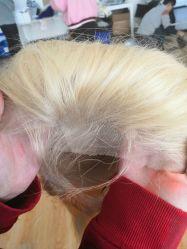 100% Cabello Humano 613 de la onda Color peluca de encaje completo