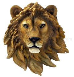 OEM Resinbar Cafe Tiger Lion Wolf Creative Wall Hanging Decoraties