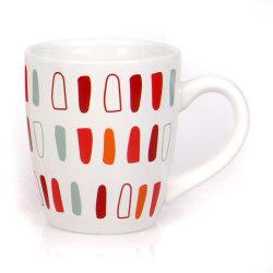Regalo di ceramica della tazza di stampa del tè del caffè bianco su ordinazione all'ingrosso dell'acqua
