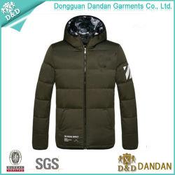Manteau à bon marché de gros en usine pour les hommes Down Jacket (JS1118009)