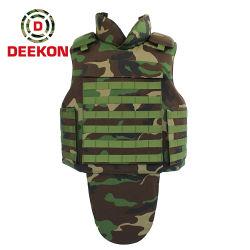 De bonne qualité de camouflage militaire armée Standard inj Body Armor Bulletproof Vest