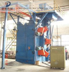 Os ganchos duplo Granalhagem máquina utilizada para a planta de fundição e processo de Metal