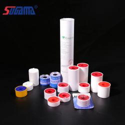 De witte Hechtpleister van het Oxyde van het Zink van de Kleur met Plastic Dekking