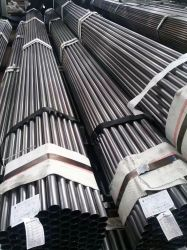 Tubo de acero carbono negro /Rhs/Chs/ REG Ms /Mield Tubo de acero negro/negro del tubo de acero