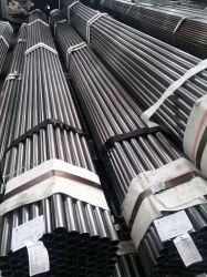 Tuyau en acier noir de carbone /ERS/chs/ Ms /Mield restes explosifs des guerres de l'acier tuyau noir/Tube en acier galvanisé