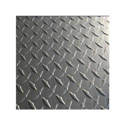 piatto d'acciaio Checkered della pavimentazione inossidabile di rivestimento 201 304 316 2b