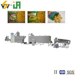 Le maïs soufflé Snack extrudé de riz de l'extrudeuse de bouffée de bague de maïs alimentaire Making Machine Ligne de production d'Extrusion