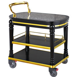 Panier d'alcool du vin boissons transporteur chariot pour les hôtels et restaurants (HL-075)