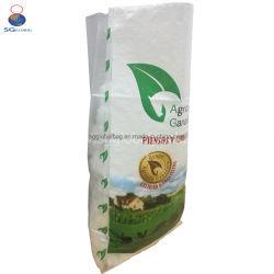 25kg PP tissés Sac de farine de maïs de l'emballage