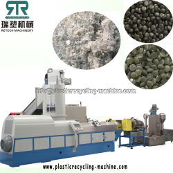 Plastic Geweven PE/PP/HDPE/LDPE/LLDPE/BOPP/PS/ABS/Pet/PVC/EPS/EPE/EPP/PC/Film/Net/Non/Zak/Vezel/Granulator/het Korrelen/Korreling/Lijn/Installatie/de Machine van het Recycling