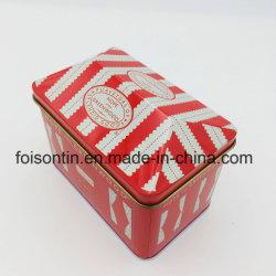 Mini boîte en forme de la Chambre de l'étain argent avec verrou, Banque de pièce de métal