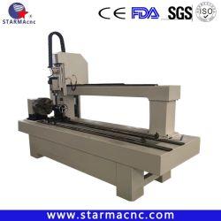 Jinan Starma maquinaria de madera giratorio Router CNC grabado
