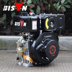 Kraftstofftank-Luft abgekühlter langfristiger Zeit4-stroke lister-Dieselmotor des Bison-(China) Bsd186f grosse für Verkauf