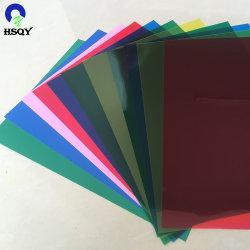 PVC堅いシート150ミクロンA4 PVC結合カバーを着色しなさい