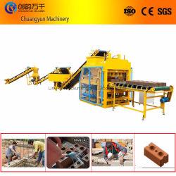 Cy4-10 sol argileux de boue hydraulique automatique machine à fabriquer des briques Lego de verrouillage