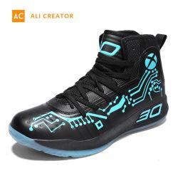 2019 OEM Aucun nom de marque de chaussures de basket-ball pour les hommes