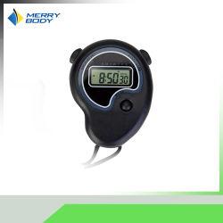 ساعة إيقاف رقمية بلاستيكية LCD كبيرة