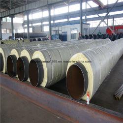 Chaqueta de acero del tubo de aislamiento de vapor para la alta Tempertature calefacción