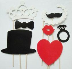 파티와 결혼식에 적합한 OEM 고품질 종이 마스크