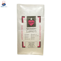 La SGS Ce fournisseur d'usine de la Chine de la FDA d'emballages de semences de riz de Millet Food engrais Feed Sac tissé en PP transparent